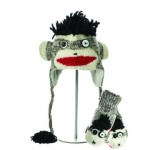 Punk Rock Sock Monkey zestaw